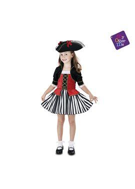 Pirata anne 7-9 años niña ref.203150