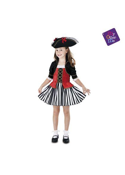 Pirata anne 7-9 años niña ref.203150 - 55223150