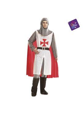 Caballero medieval blanco ml hombre ref.201235 - 55221235