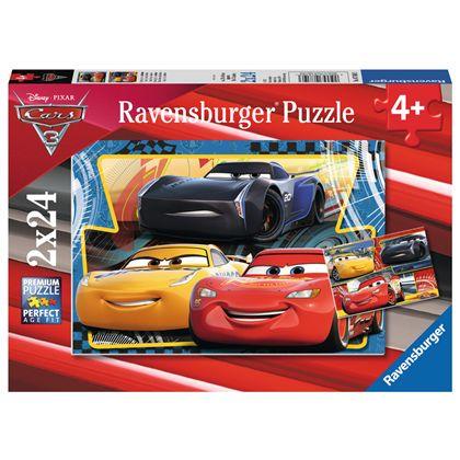 Puzzle 2 x 24 cars 3 - 26907810