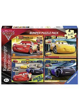 Puzzle 4 x 42 cars 3 - 26906890
