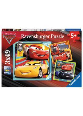 Puzzle 3 x 49 cars 3