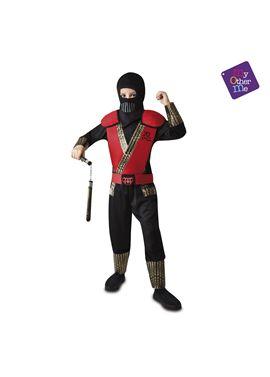 Ninja rojo 5-6 años niño ref.203143 - 55223143