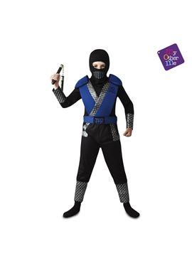 Ninja azul 7-9 años niño ref.203141 - 55223141