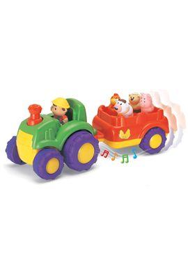 Musical tractor y trailer - 92331222
