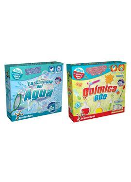 Pack ciencia del agua + química 600 - 49560602