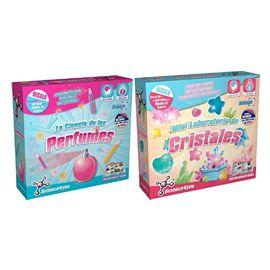 Pack ciencia perfumes + laboratorio de cristales - 49560603