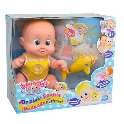 Bouncing babies baniel nadando con delfines - 30541161