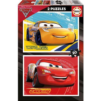 Puzzle 2x20 cars 3 - 04017176