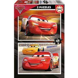 Puzzle 2x48 cars 3 - 04017177