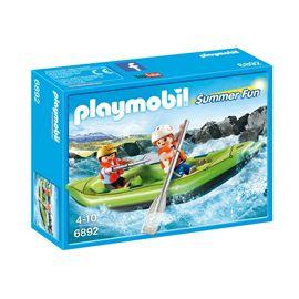 Niños en balsa rafting - 30006892