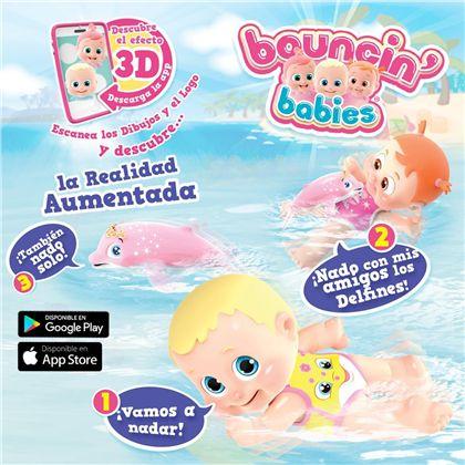 Bouncing babies baniel nadando con delfines - 30541161(5)