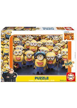 Puzzle 100 despicable me 3 - 04017233