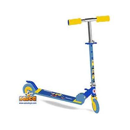 Patinete 2 ruedas minions - 00702859