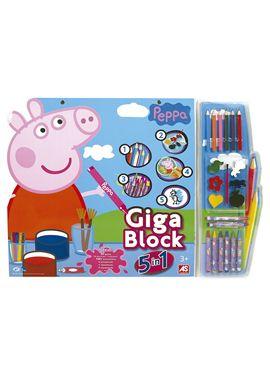 Giga block peppa pig 5 en 1 - 04821804