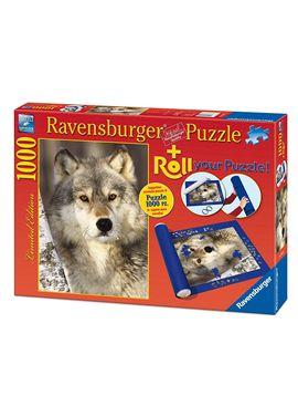 Puzzle 1000 lobo + roll - 26919911