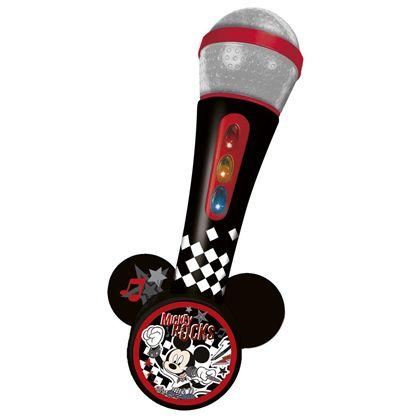 Micro de mano mickey con amplificador y ritmos - 31005369