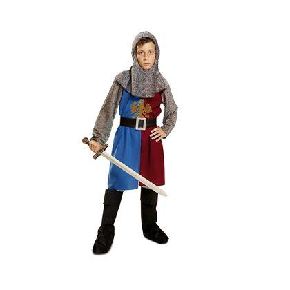 Caballero medieval azul y granate 5-6 añ ref.20115 - 55221158
