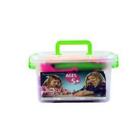 Caja magic sand 200 gr azul, verde, púrpura, rosa - 87876200