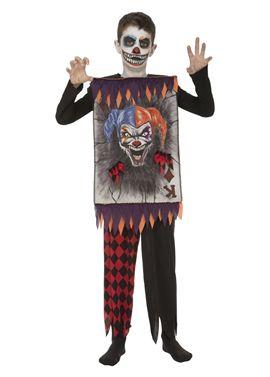 Clown card 10-12 años niño ref.203996 - 55223996