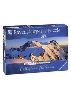 Puzzle 1000 colección italiana - monte bianco - 26915080
