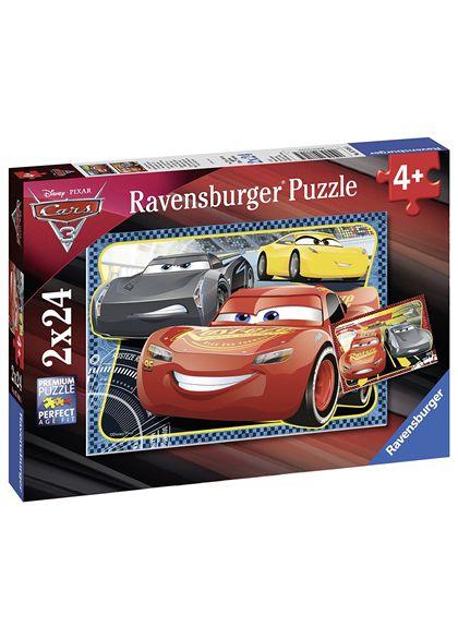 Puzzle 2 x 24 cars 3 - 26907816