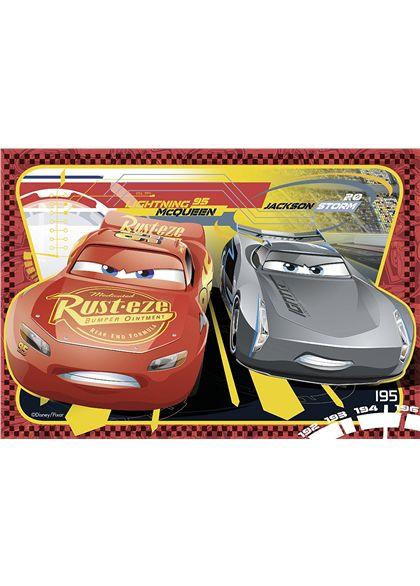 Puzzle 2 x 24 cars 3 - 26907816(2)