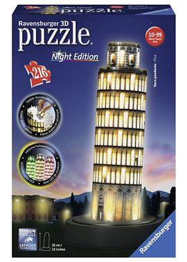 Puzzle 3d torre de pisa con luz - 26912515