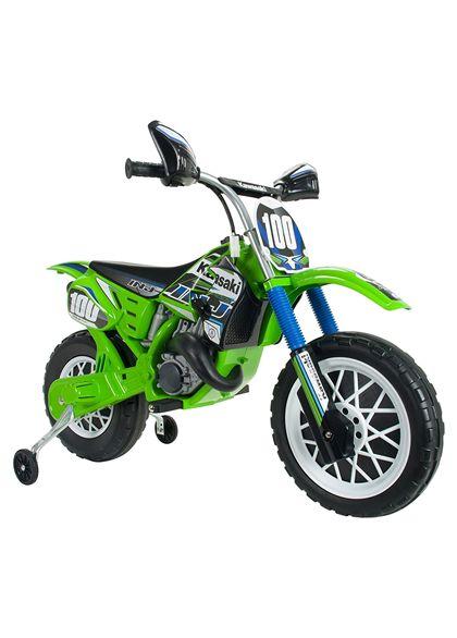 Moto kawasaki cross 6v. - 18506775