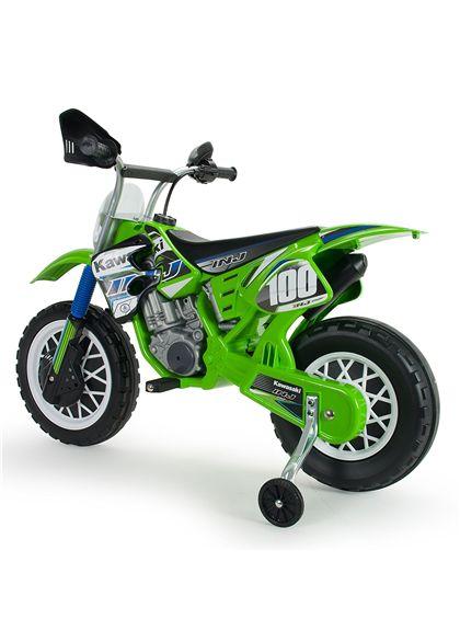 Moto kawasaki cross 6v. - 18506775(2)