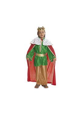 Rey mago verde 5-6 años niño ref.200470 - 55220470