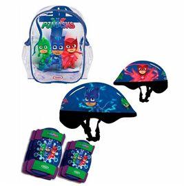 Pj masks mochila+casco+protecciones - 00702938