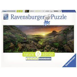Puzzle 1000 sole sopra l´islanda - 26915094