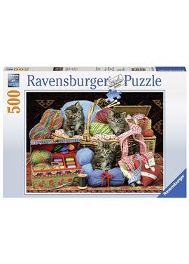 Puzzle 500 lanas - 26914785