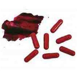 Cápsulas de sangre 8 pzas