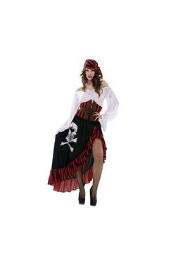Disfraz pirata bandana mujer
