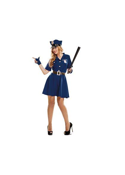 Policía mujer m-l - 55200990