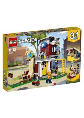 Parque de patinaje modular lego creator - 22531081