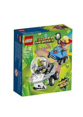 Mighty micros: supergirlT vs. brainiacT super hero - 22576094