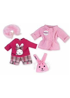 Vestido nenuco deluxe rosa conejito - 13004855
