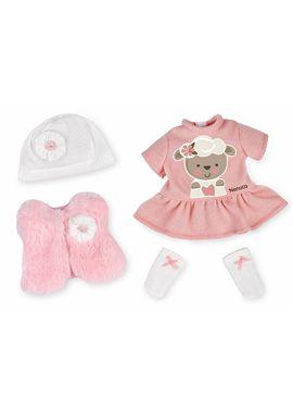 Vestido nenuco deluxe rosa ovejita - 13004857