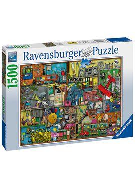 Puzzle 1500 oggetti rumorosi - 26916361
