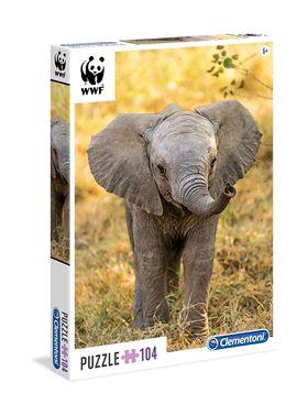 Puzzle 104 elefante - 06627999