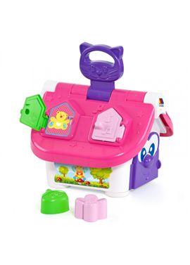 Casita granja actividades puzzle rosa - 26513504(1)