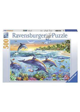 Puzzle 500 delfines - 26914210