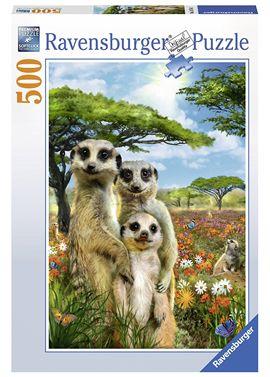 Puzzle 500 suricates - 26914744