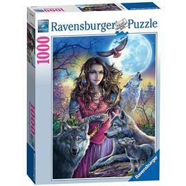 Puzzle 1000 maestra de lobos - 26919664