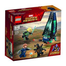 Ataque de la nave de los outriders super heroes - 22576101