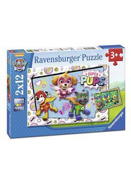 Puzzle paw patrol d 2 x12 - 26907613