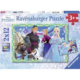 Puzzle frozen 2 x12 - 26907621
